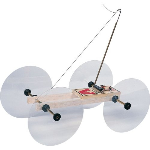 Pitsco Balsa Wood Little Moe Mousetrap Vehicle For 10 Students