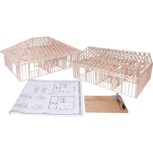 Pitsco True Scale House Framing Kit