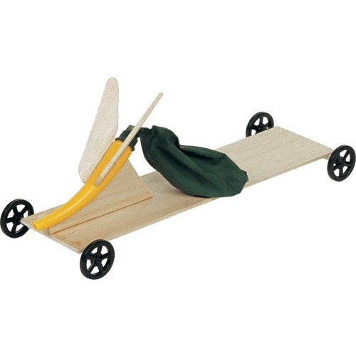 Pitsco Balloon Buggy Pack For 50 Students