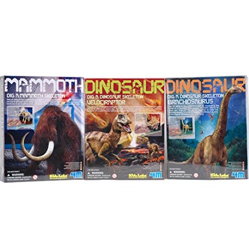 Dig A Dino Excavation Kit Series 2 3-Pack