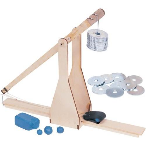 Pitsco Laser-Cut Basswood Trebuchet Kit Individual Pack