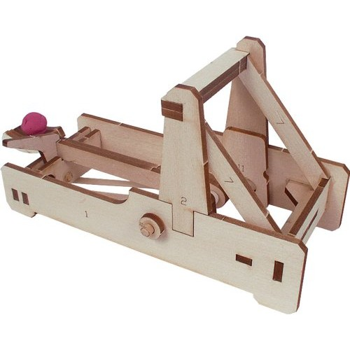 Pitsco Laser-Cut Basswood Catapult Kit Individual Pack