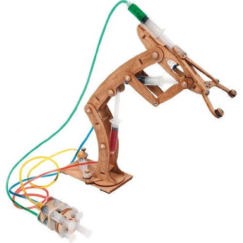 Pitsco Laser-Cut Basswood T-Bot II Hydraulic Arm Individual Pack