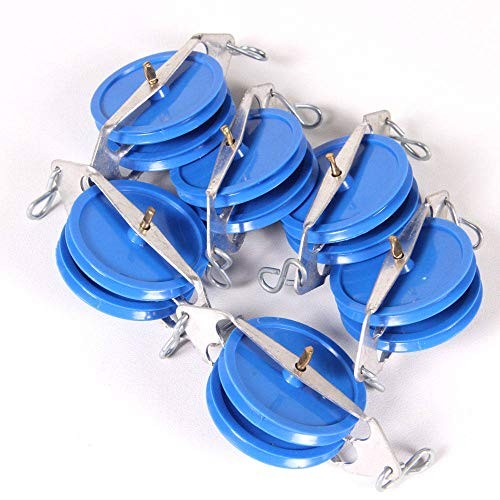 hand2mind Double Pulley Set of 5
