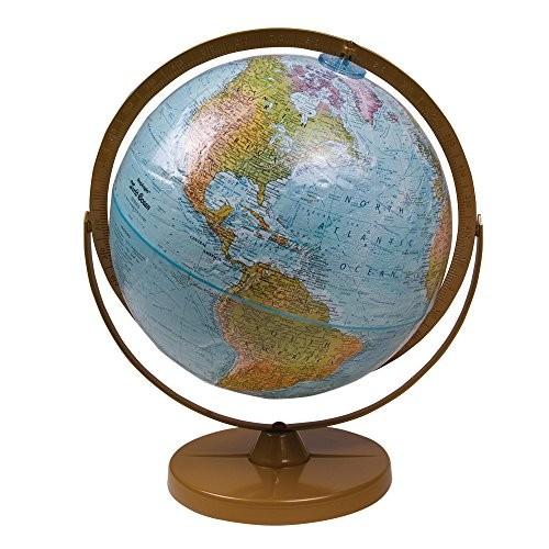 Replogle World Ocean Series Landforms Desk Globe 13031
