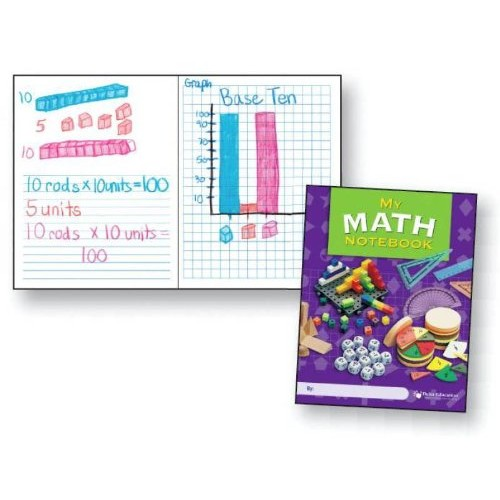 Delta Education My Math Notebooks Grades 3-6 Pack of 10