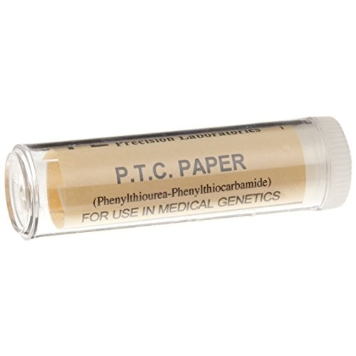 Frey Scientific 569885 PTC Taste Paper 12 Vials of 100 Strips