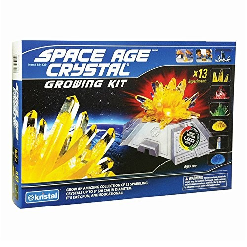 Deluxe Space Age Crystal Growing Kit 13 Crystals