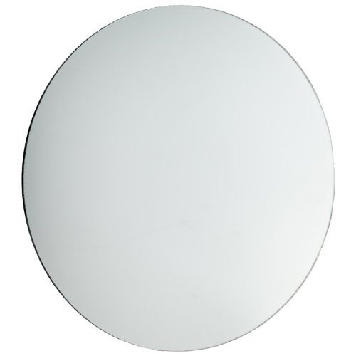 American Educational Concave Spherical Silver-Backed Glass Mirror with Ground Edges 75cm Diameter 7cm Focal Length Bundle of 5