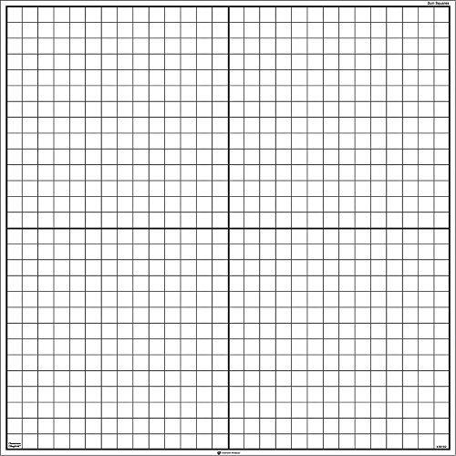 hand2mind x-Y Axis ClingGrids Pack of 3