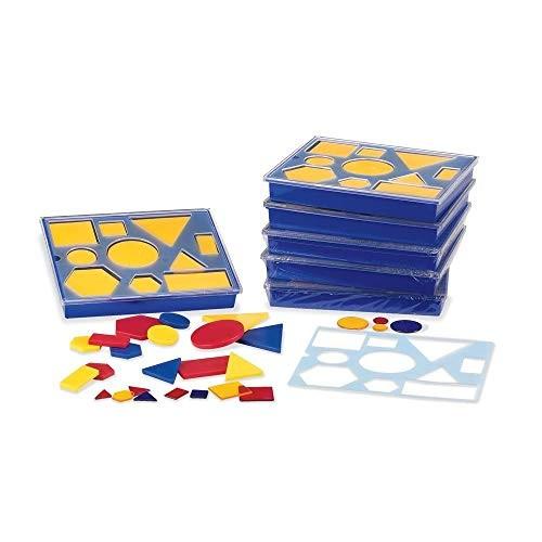 Attribute Blocks Classroom Basics Kit – Set of 6 Trays
