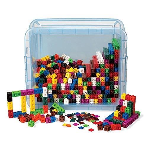hand2mind Snap Cubes Classroom Kit Set of 2000