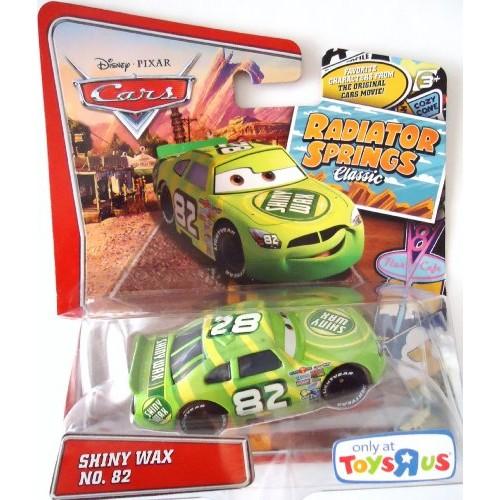 Pixar Cars Radiator Springs Classic Exclusive Shiny Wax 1:55 Scale Mattel