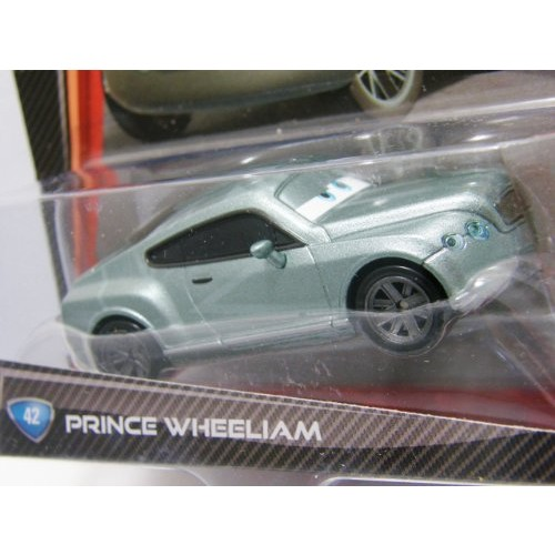 Disney Pixar Cars 2 #42 Prince Wheeliam by Mattel