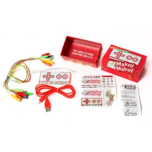 Makey an Invention Kit for Everyone from JoyLabz – Hands-on Technology Learning Fun Kids STEM Toy 1000s of Educational Engineering and Computer Coding Activities Ages 8 Up
