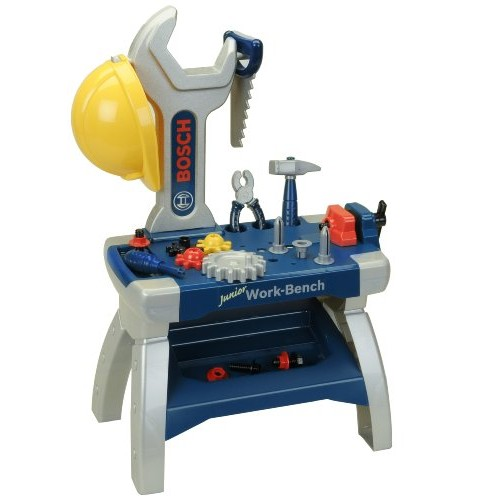 Theo Klein – Bosch Junior Workbench Premium Toys For Kids Ages 3 Years & Up