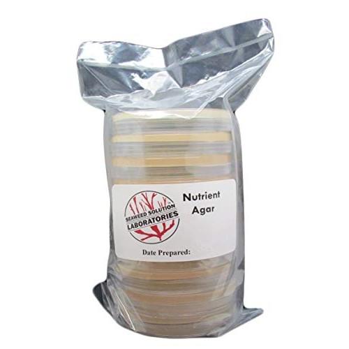 Nutrient Agar – Sterilized 10 100mm x 15mm Plates