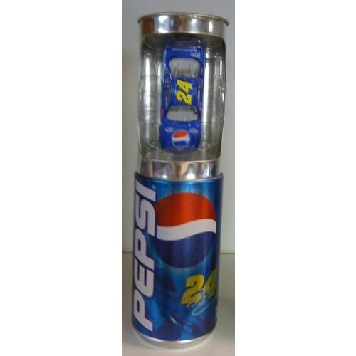 Jeff Gordon #24 Monte Carlo Pepsi Talladega Paint Scheme 1/64 Scale Diecast Car Inside