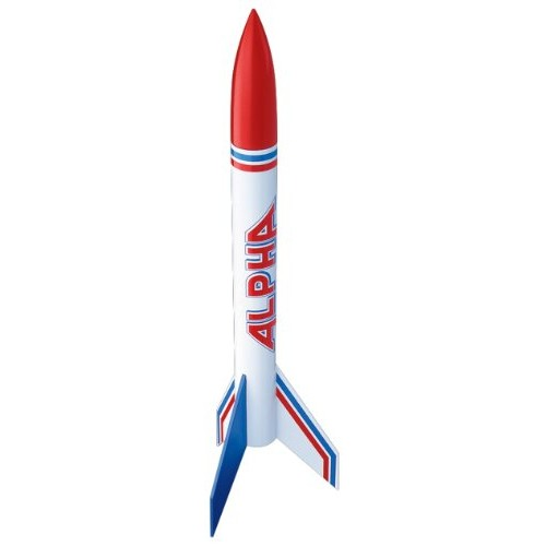 Estes Alpha Flying Model Rocket Bulk Pack Pack of 12 Intermediate Level Kit Soars up to 1000 ft Step-by-Step Instructions Science Education Kits Great for Teachers Youth Group Lead