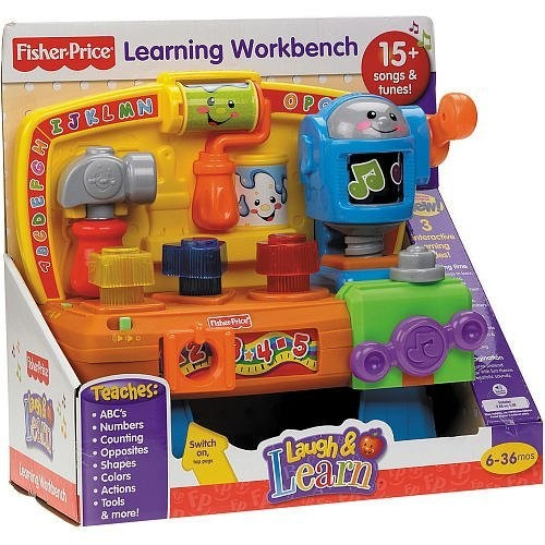 Fisher-Price Laugh & Learn Learning Workbench Age 6 months – 3 years