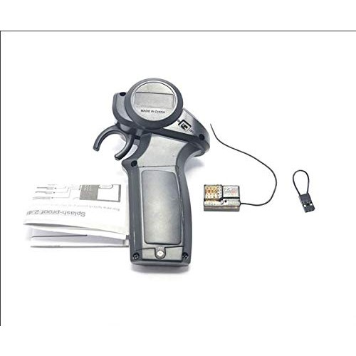 Aquila Mini 24GHz Radio Remote Control Transmitter with 4 Channel Splash Proof Receiver and
