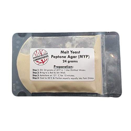 Malt Yeast Peptone Agar MYP – 24 grams Great For Growing Mushrooms