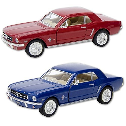 Die Cast 1964 1/2 Ford Mustang car 1:36 scale – Available in Red Black