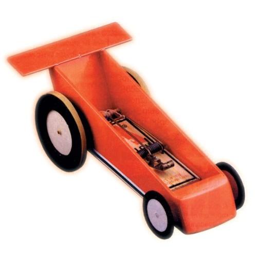 Single Mousetrap Car Kit