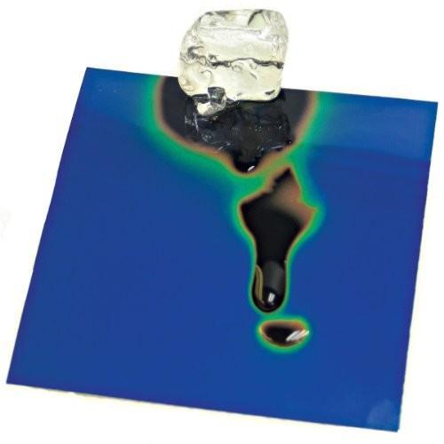 Liquid Crystal Sheet 20-25C Transition 4×4 inch