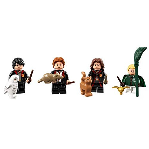 LEGO Harry Potter Collectible Minifigures Ron Weasley Hermione Grainger and Draco Malfoy