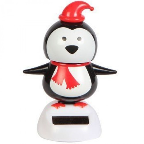 Solar Powered Dancing Penguin