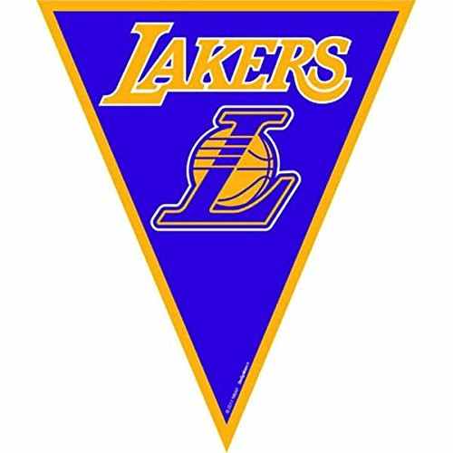 Los Angeles Lakers NBA Collection Pennant Banner Party Decoration