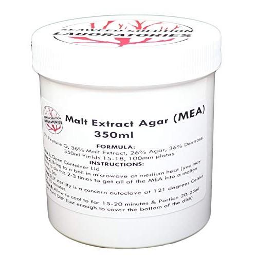Malt Extract Agar MEA 350 Milliliters – Sterilized