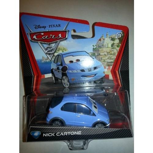 Disney Pixar cars Nick Cartone