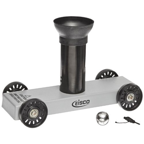 EISCO Aluminum Ballistics Car with Plastic Wheels