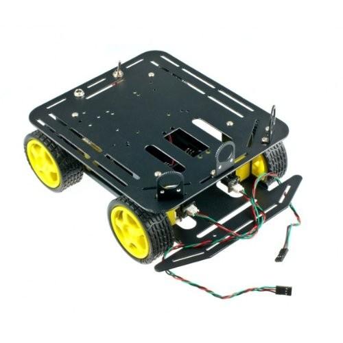 DFRobot Baron – 4WD Mobile Robot Platform for Arduino with Encoder