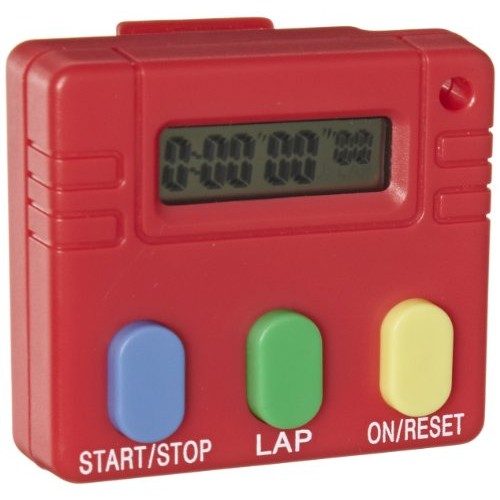 EISCO Digital Timer 3 Button Operation 2 Length x Width 7 16 Thick
