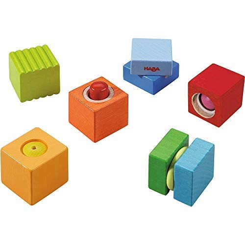 HABA Fun with Sounds Wooden Discovery Blocks Acoustic Made in Germany
