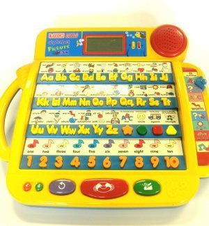 VTech Little Smart Alphabet Picture Desk Educational Learning Toy for Toddlers and Kids