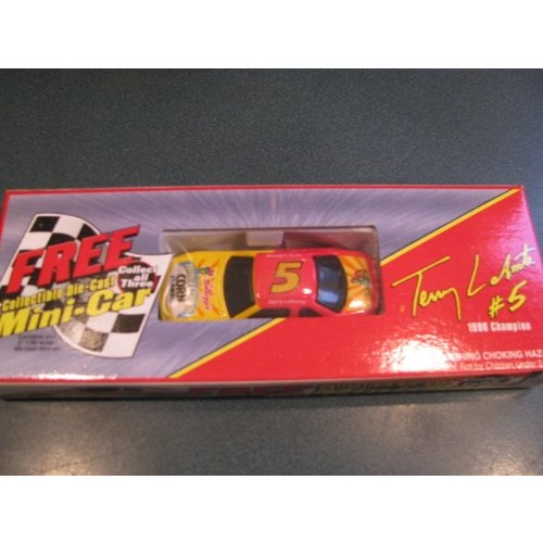 Special Kellogg's Cereal Promotional Offer Car Terry Labonte #5 Kellogg's Honey Crunch Cornflakes 1/64