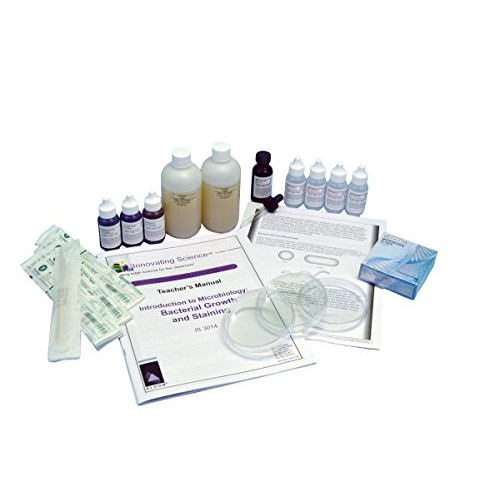 Innovating Science Introduction to Microbiology Bacterial Growth and Staining Kit