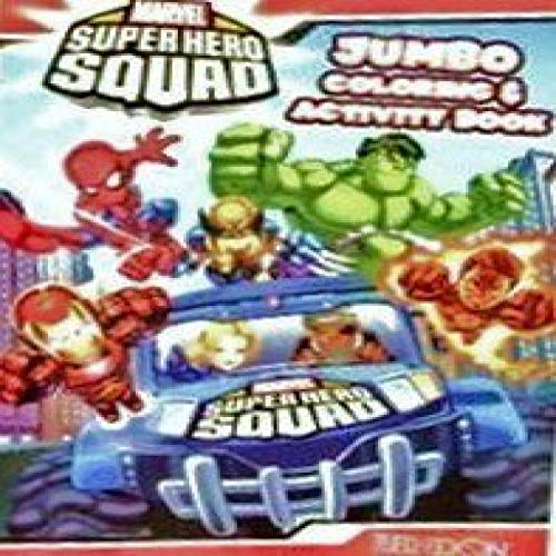 Marvel Superhero Squad ~ Coloring & Activity Book B by Bendon Purlishing