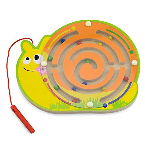 Viga Toys – 59966 Magnetic Bead Trace Snail