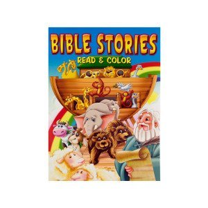 Bible stories coloring book – Pack of 24