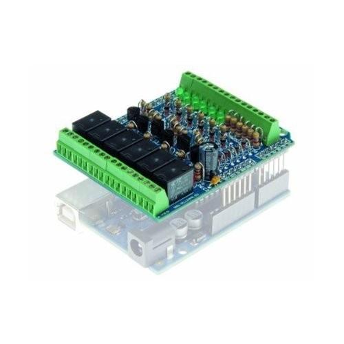 Velleman KA05 I O Shield for Arduino Kit 1 Grade to 12 267 Height 208 Length