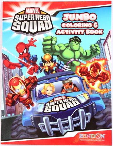 Marvel Super Hero Squad – JUMBO Coloring & Activity Book Hero Up