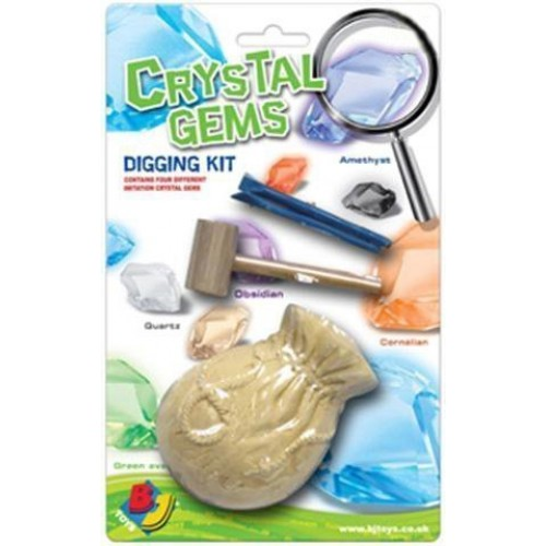 Concept4U Crystal Gems Digging Kit – Dig Out Gemstones With Tool