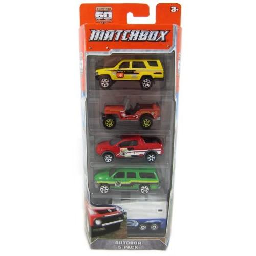 Hot Wheels C1817 Matchbox Car Assortment 5 Count