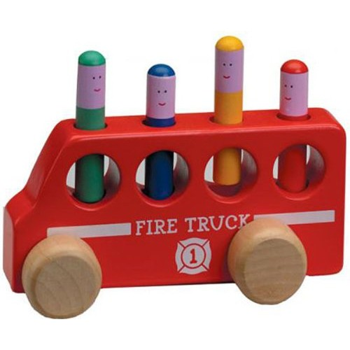 The Original Toy Company Pop Up Fire Truck