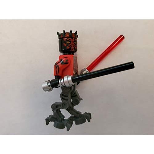 Star Wars Lego Darth Maul Cyborg with Dual Lightsabers